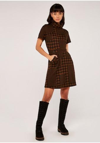 Apricot Etuikleid »Patchwork Dogtooth Epaulette Dress« kaufen