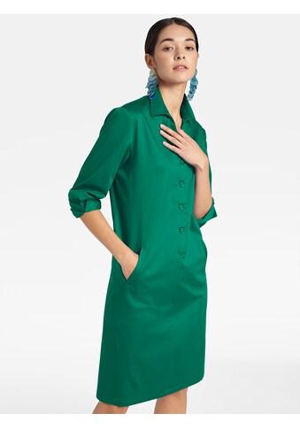 Basler Blusenkleid mit Knopfleiste und Hemdkragen kaufen