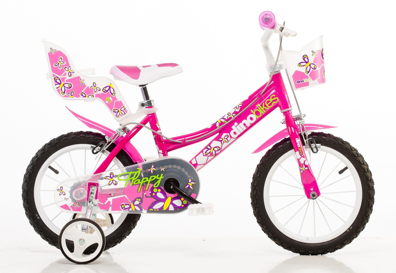 Dino Kinderfahrrad City rosa Kinder Kinderfahrräder Fahrräder Zubehör