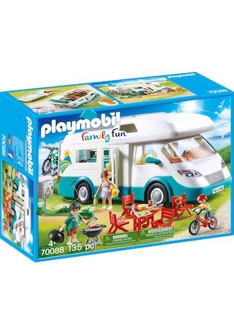 "Playmobil® Konstruktions - Spielset ""Familien - Wohnmobil, »Family Fun«"", Kunststoff kaufen"