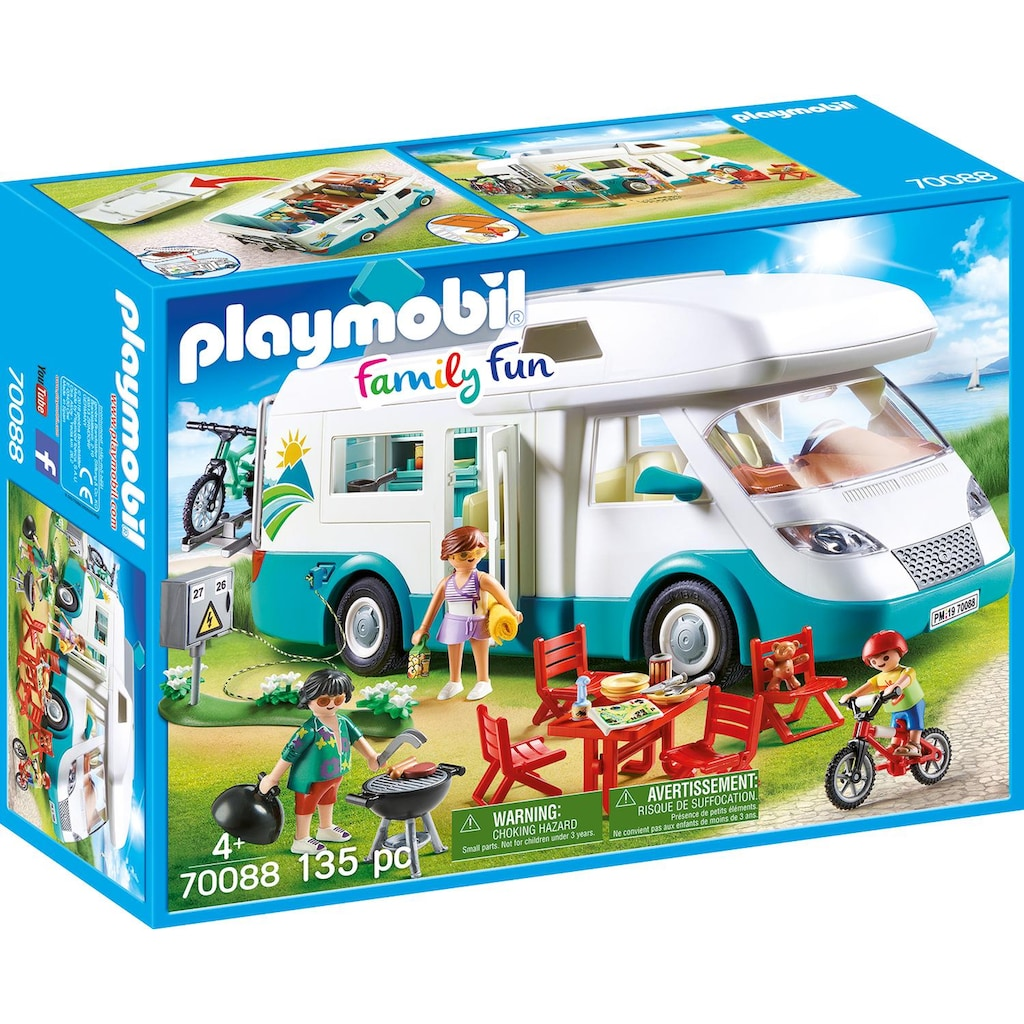 Playmobil® Konstruktions-Spielset »Familien-Wohnmobil, Family Fun«, Made in Europe