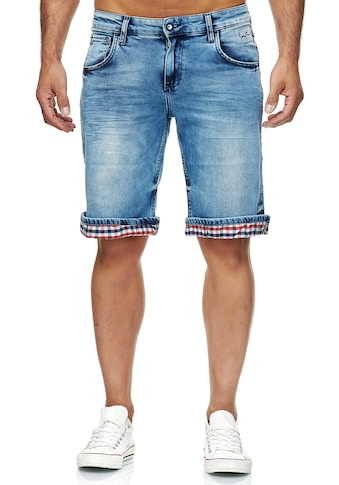 Rusty Neal Shorts »Stanley«, mit coolem Karodetail kaufen