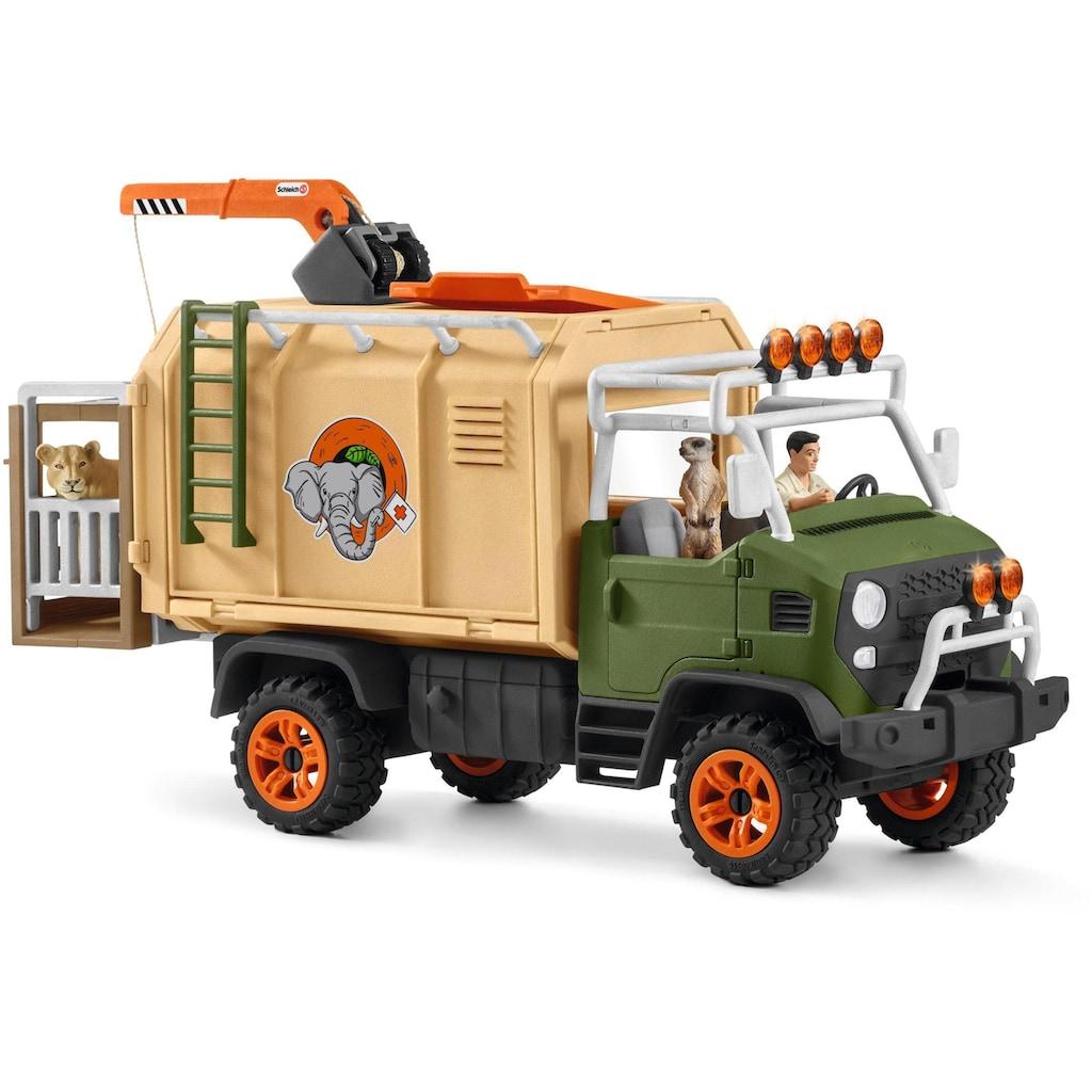 Schleich® Spielwelt »Wild Life, Großer Truck Tierrettung (42475)«, Made in Europe