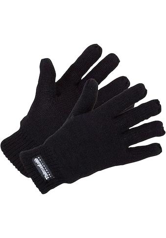Strickhandschuhe »0900 - 1000 schwarz«, atmungsaktiv kaufen