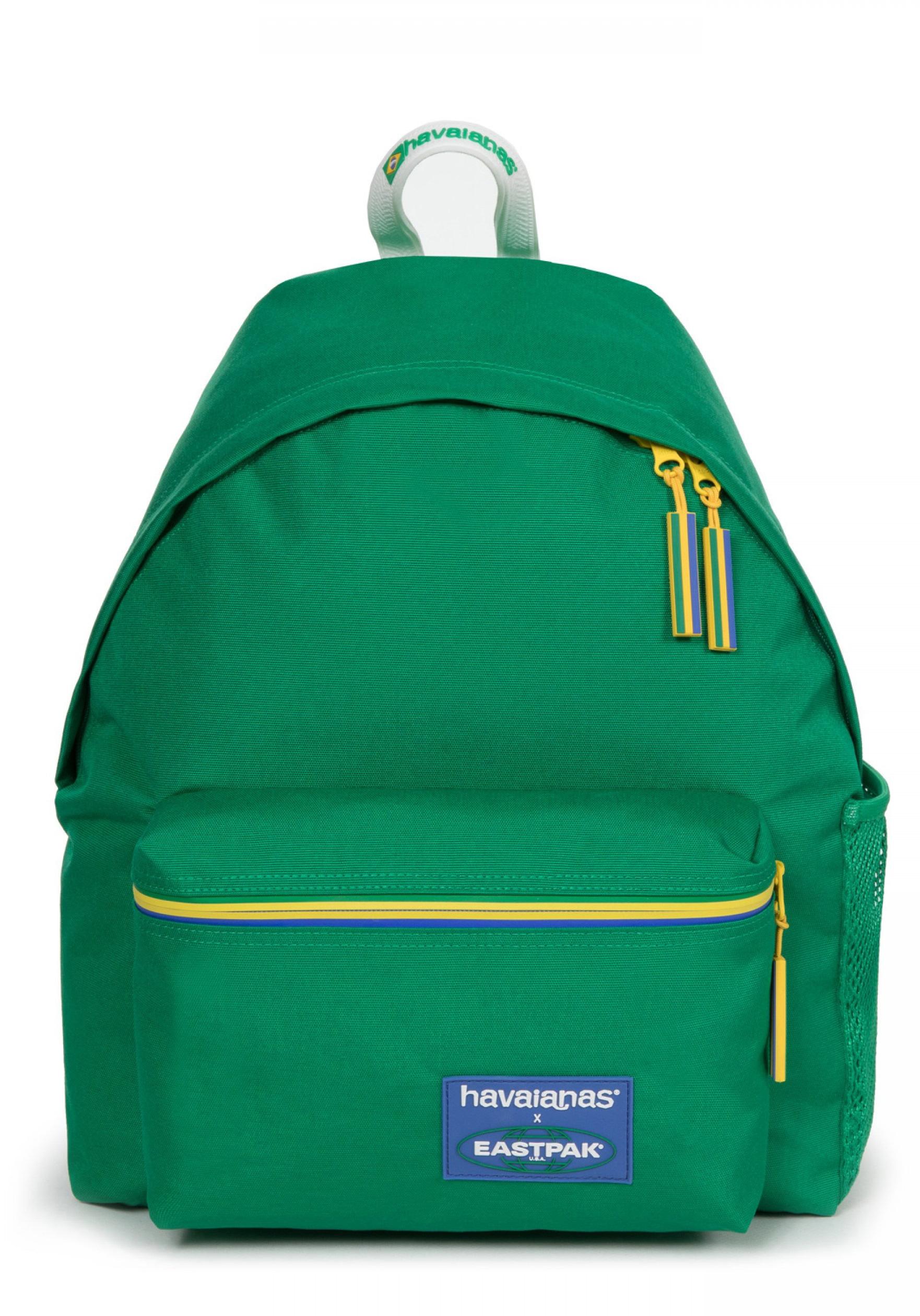 Eastpak Freizeitrucksack Eastpak x Havaianas - PADDED PAK'R havaianas green, grün, Kinder
