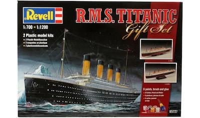 Revell® Modellbausatz »Geschenkset Titanic«, (Set), 1:700 · 1:1200, Made in Europe kaufen