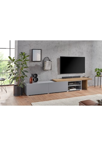 TRENDMANUFAKTUR Lowboard »Kora«, Breite 280-300 cm kaufen