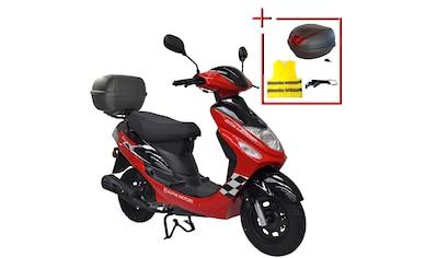 ALPHA MOTORS Motorroller »Cityleader«, 50 ccm, 45 km/h kaufen