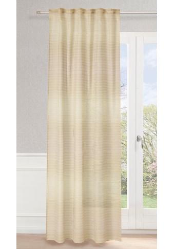 Neutex for you! Vorhang »Rocco«, Schal mit verdeckten Schlaufen kaufen