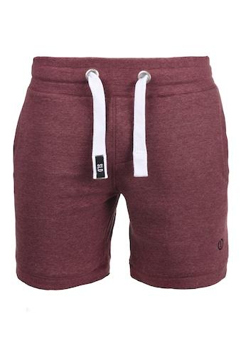Solid Sweatshorts »BennShorts«, kurze Hose mit breiten Kontrastkordeln kaufen