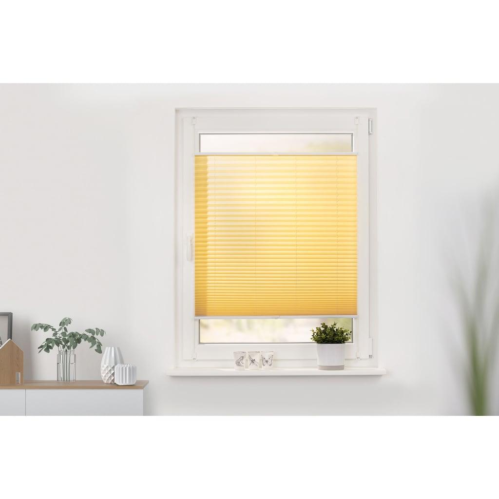 LICHTBLICK ORIGINAL Plissee »Klemmfix«, Lichtschutz, ohne Bohren, verspannt, Faltenstore
