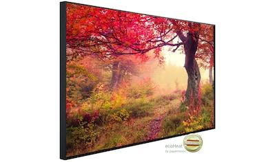 Papermoon Infrarotheizung »EcoHeat - Herbstwald«, Aluminium, 750 W, 60 x 120 cm, mit... kaufen