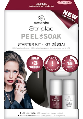 "alessandro international UV - Nagellack - Set ""Striplac STARTER KIT"", 10 - tlg. kaufen"