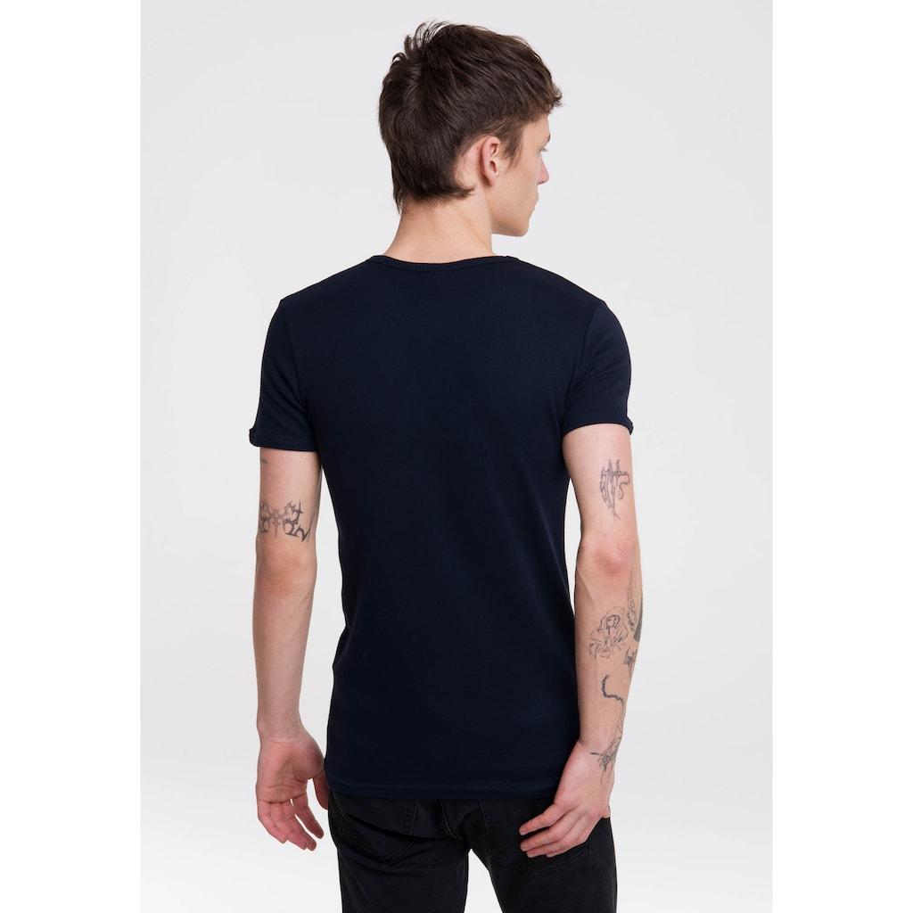 LOGOSHIRT T-Shirt »Popeye«, mit witzigem Print
