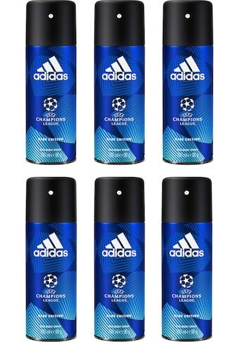 adidas Performance Deo-Spray »UEFA 6 Dare Edition«, (Spar-Set, 6 tlg.), für Männer kaufen