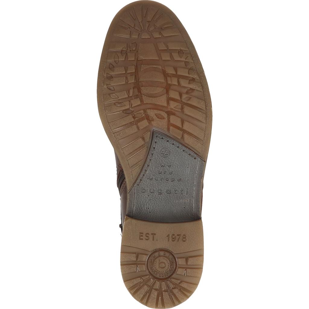 bugatti Schnürstiefelette »Leder«