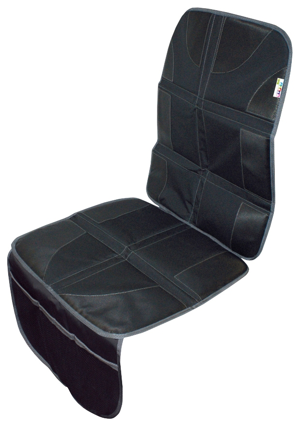 Happy Kids Autositzschutz, mit Taschen schwarz Autositzbezüge Autozubehör Reifen Autositzschutz