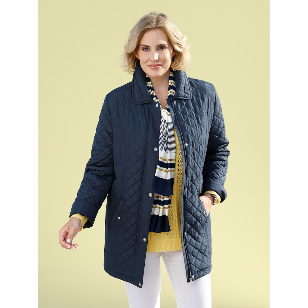 m. collection Steppjacke, leicht wattiert