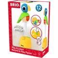 BRIO® Steckspielzeug »Musikspiel Papagei«, FSC®-Holz aus gewissenhaft bewirtschafteten Wäldern