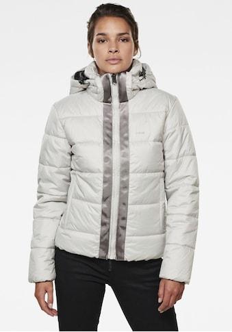G-Star RAW Steppjacke »Meefic«, stylische Damen Winter Steppjacke mit Kapuze kaufen