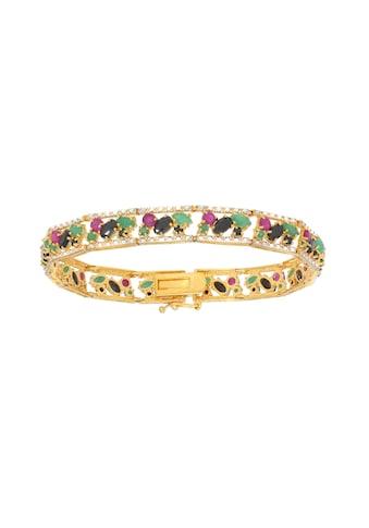 Vivance Armband »Rubin Smaragd Saphir« kaufen