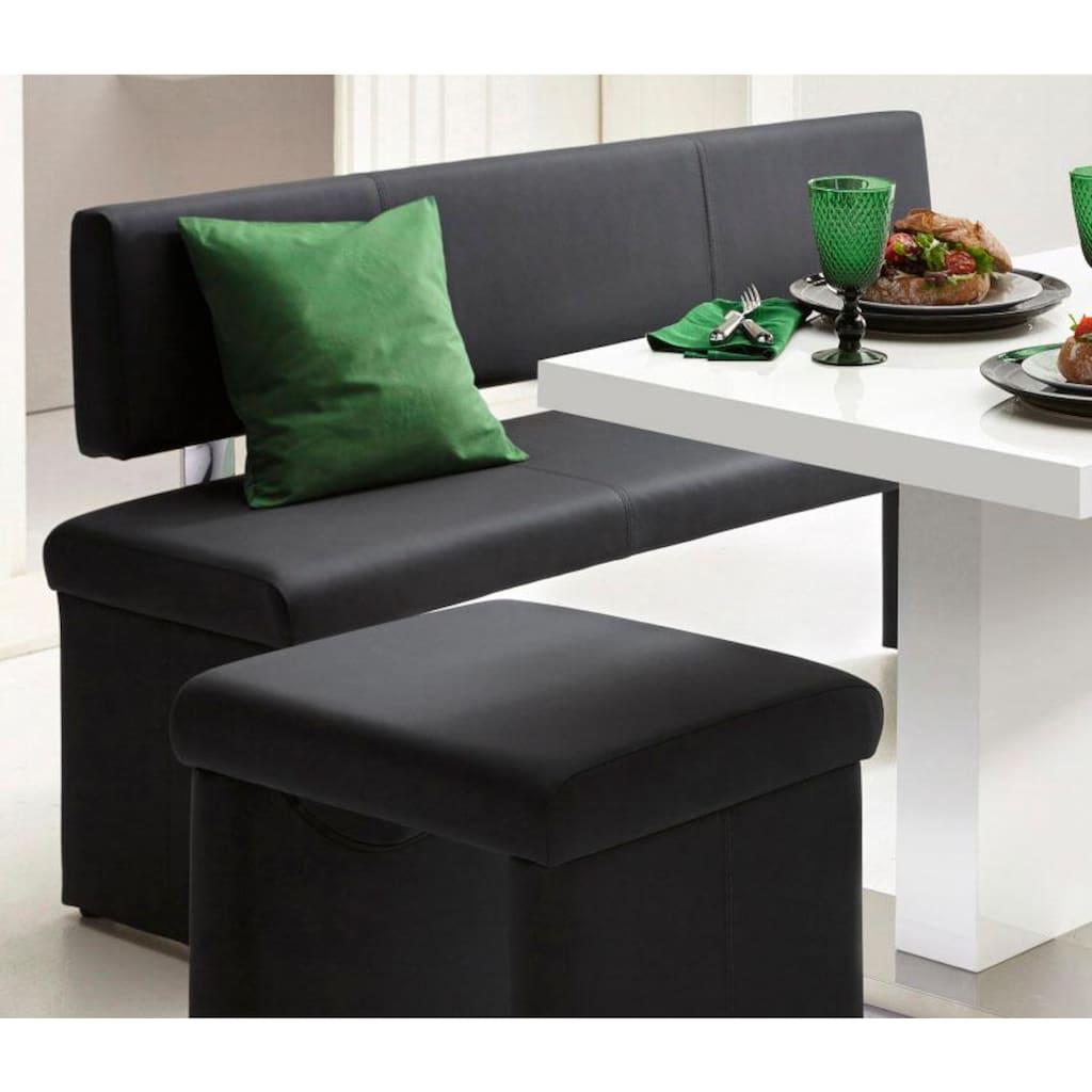 Homexperts Sitzbank, (1 St.), wahlweise mit Rückenlehne