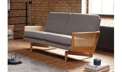 KRAGELUND 2-Sitzer »Egsmark«, K202, mit Holzarmlehne kaufen