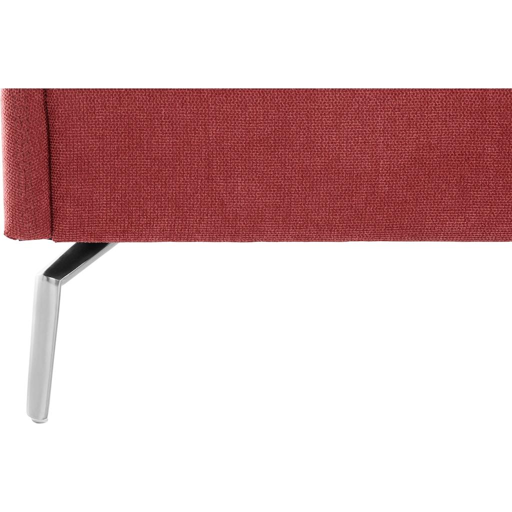 andas Polsterhocker »Hedda«, Bezug in Struktur oder Samtvelours erhältlich, Design by Morten Georgsen
