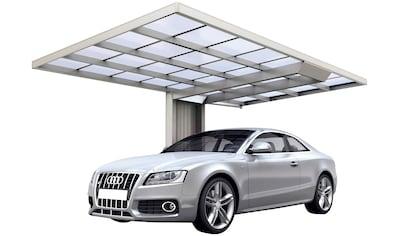 Ximax Einzelcarport »Neo Typ 2850 Typ 90 Standard-Edelstahl-Look«, Aluminium, 259 cm,... kaufen