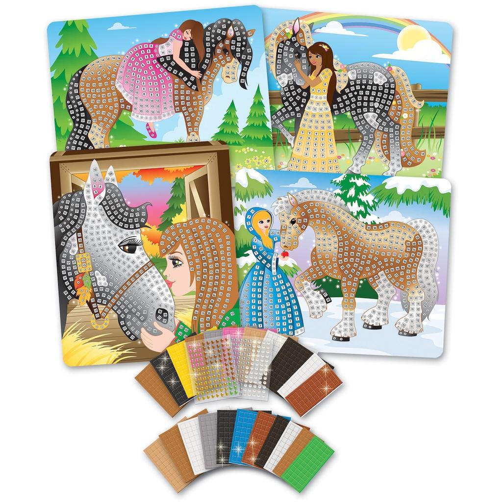 Sticky Mosaics Kreativset »Pferde«