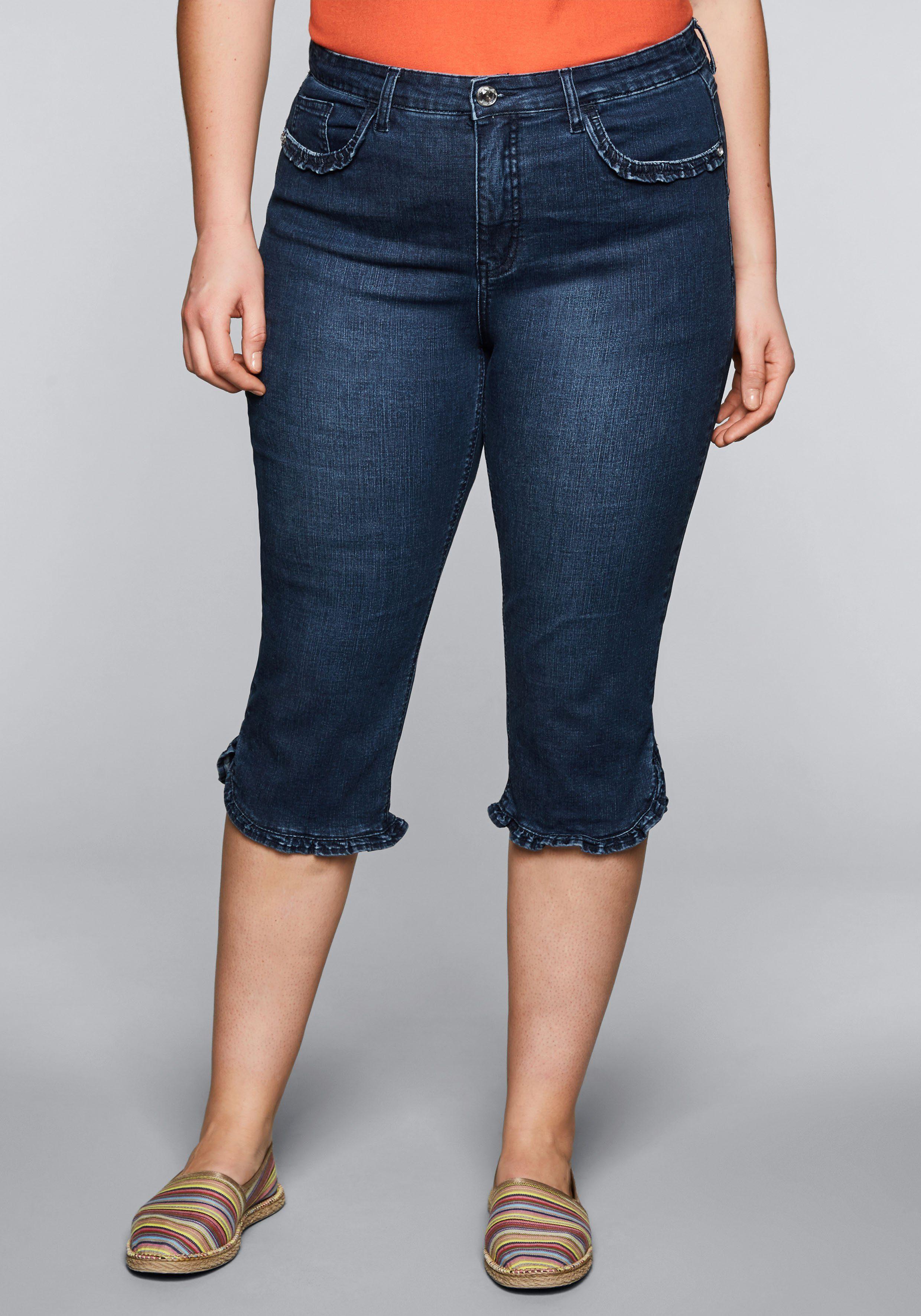 Sheego Caprijeans | Bekleidung > Jeans > Caprijeans | Sheego