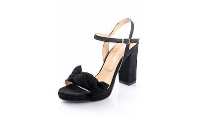 Alba Moda Sandalette aus Ziegenveloursleder kaufen