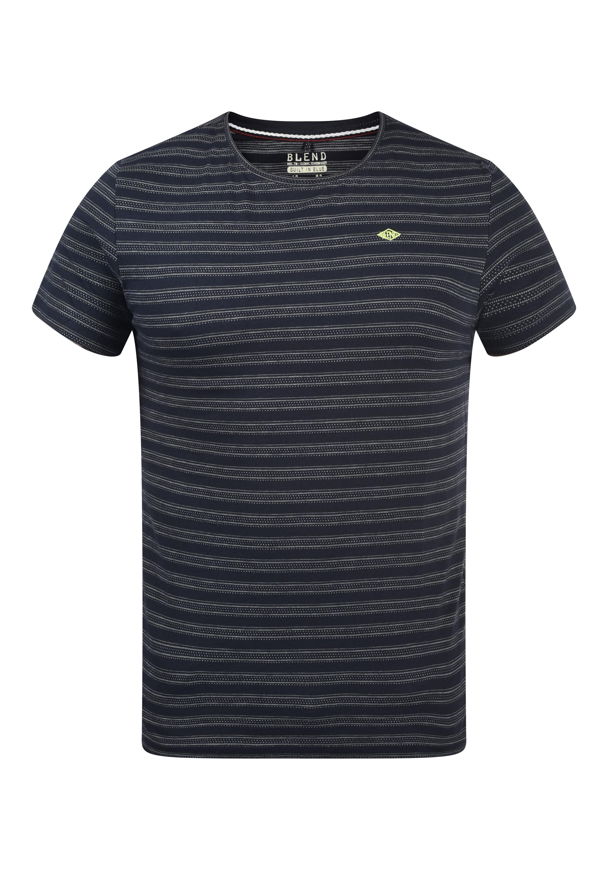 blend -  Rundhalsshirt 20709763, T-Shirt mit Muster