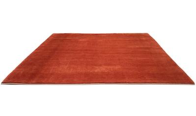 morgenland Wollteppich »Gabbeh Teppich handgeknüpft lachs«, rechteckig, 18 mm Höhe,... kaufen