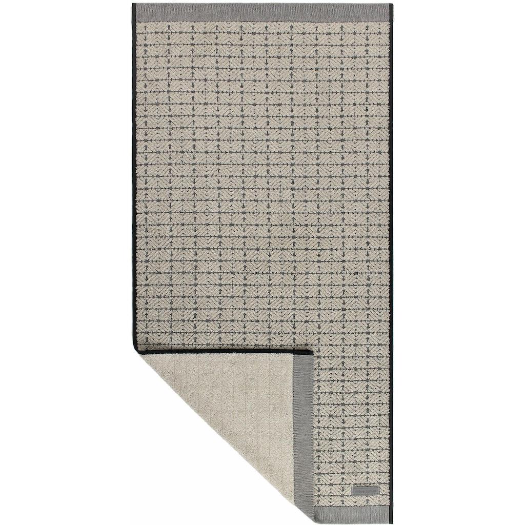 Möve Badetuch »Eden 3«, (1 St.), mit Quadratstruktur