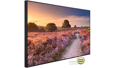 Papermoon Infrarotheizung »Blühende Heide bei Sonnenaufgang«, sehr angenehme... kaufen