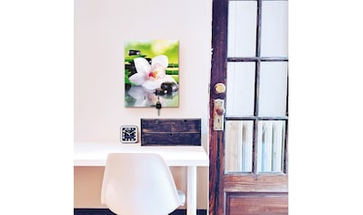 Artland Schlüsselbrett »Spa Steine Bambus Zweige Orchidee« kaufen