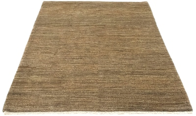 morgenland Wollteppich »Gabbeh Teppich handgeknüpft braun«, rechteckig, 18 mm Höhe,... kaufen