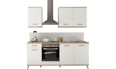 RESPEKTA Küchenzeile »Lebu«, mit E-Geräten, Breite 210 cm kaufen