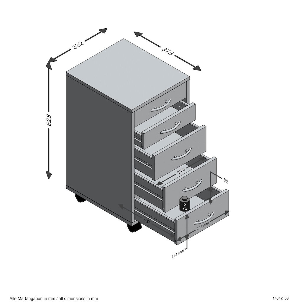 FMD Rollcontainer »Freddy«