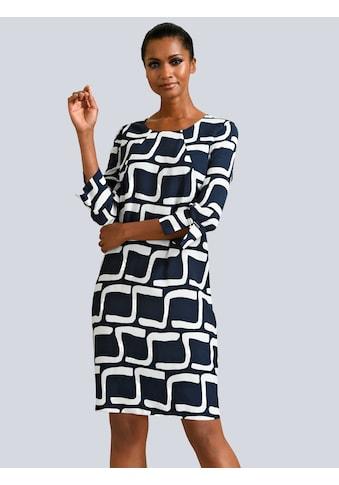 Alba Moda Kleid mit grafischem Dessin allover kaufen
