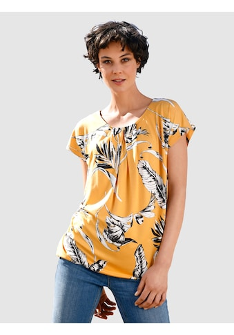 Dress In Print-Shirt, mit floralem Print kaufen