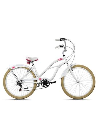 KS Cycling Cruiser »Splash«, 6 Gang, Shimano, Tourney Schaltwerk, Kettenschaltung kaufen