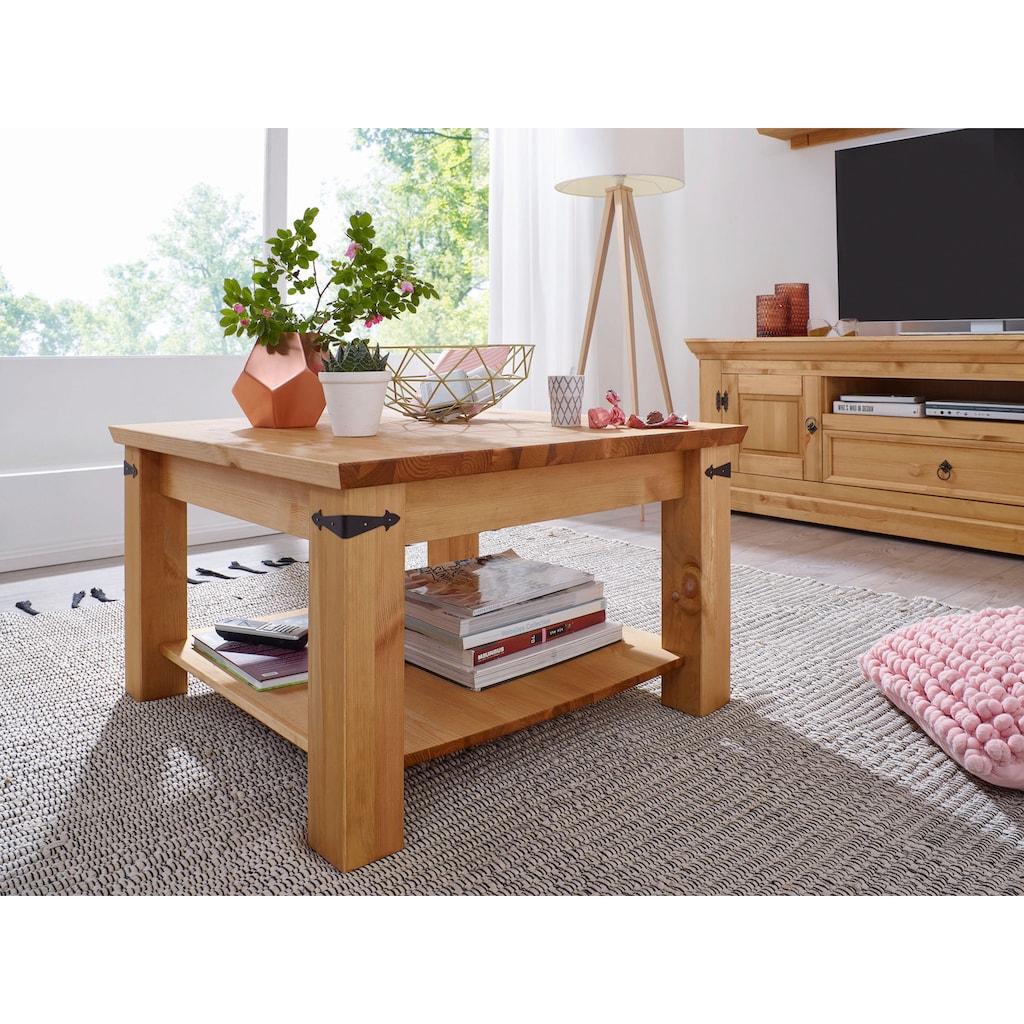 Premium collection by Home affaire Couchtisch »Brasilia«, aus Massivholz, hochwertig verarbeitet