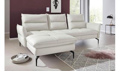 exxpo - sofa fashion Ecksofa, mit Armlehn- und Sitztiefenverstellung kaufen