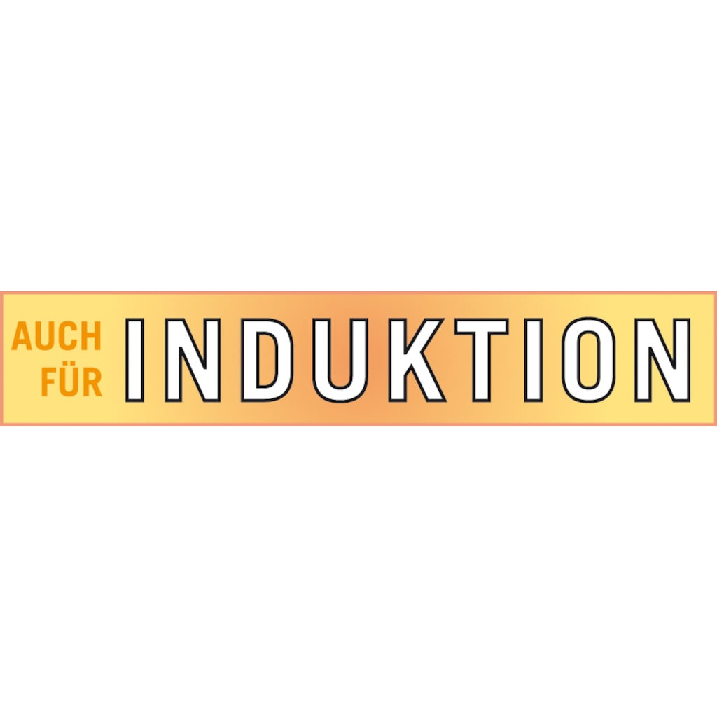 GSW Topf-Set »Silver Star«, Edelstahl, (Set, 11 tlg.), Induktion