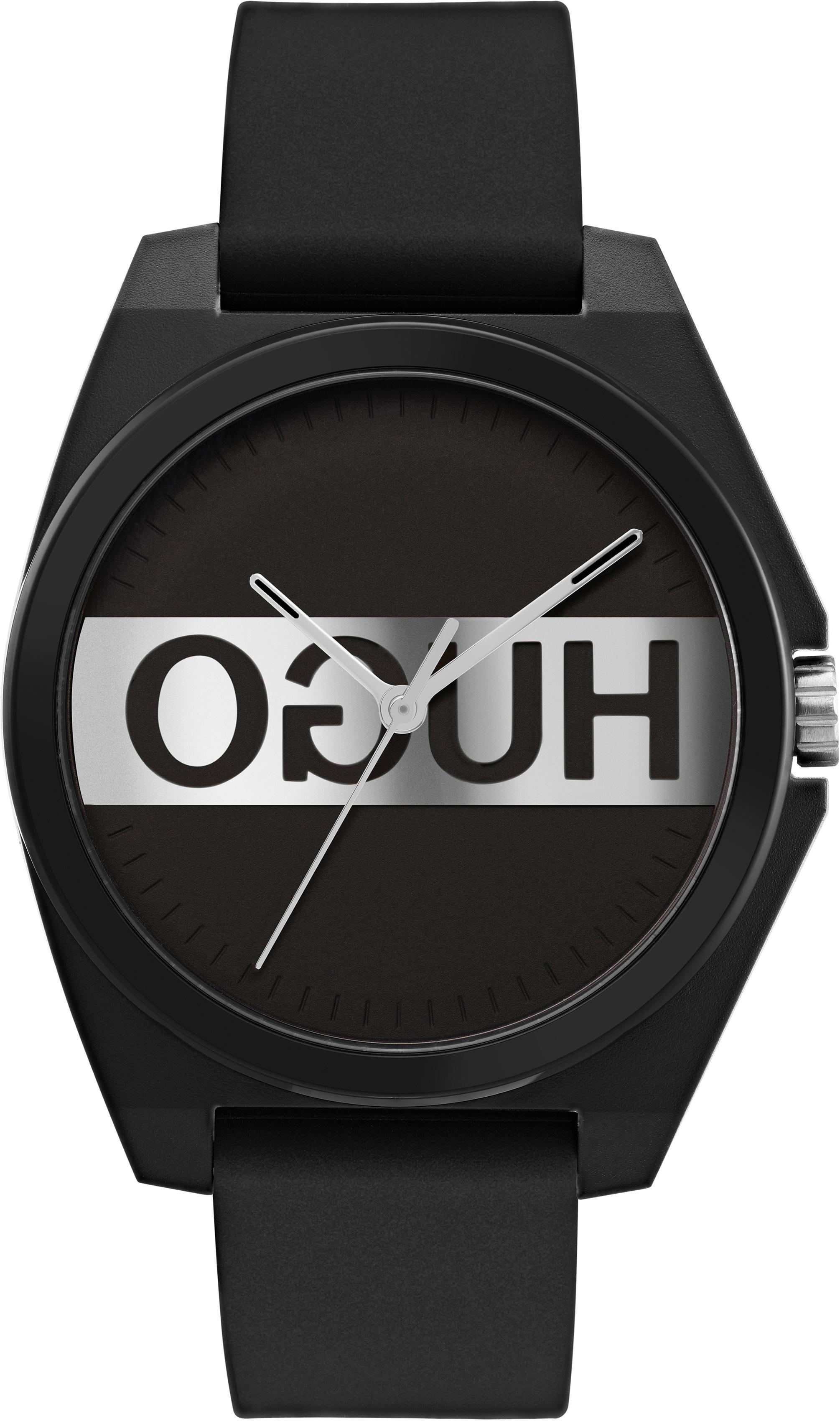HUGO Quarzuhr PLAY 1540018   Uhren > Quarzuhren   Schwarz   Hugo