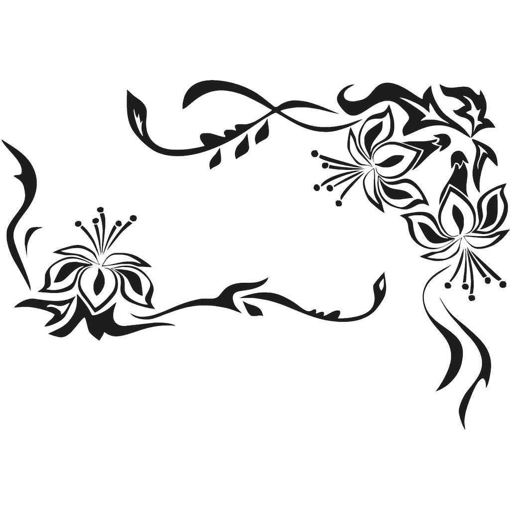 Wall-Art Wandtattoo »Blütenornament«