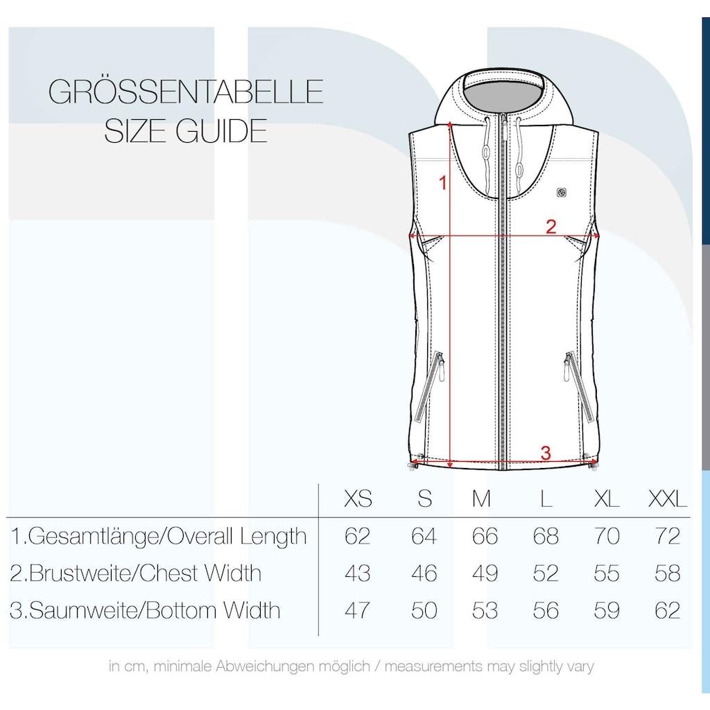 DESIRES Kurzweste »Tilda«, Weste mit kontrastfarbenen Reißverschlüssen