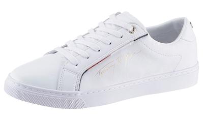 TOMMY HILFIGER Sneaker »TOMMY HILFGER SIGNATURE SNEAKER« kaufen